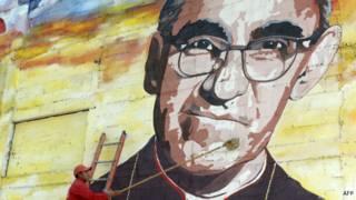 Mural de Óscar Romero