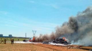 Место крушения A400M в Испании 9 мая