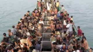 Migrants in Adaman Sea