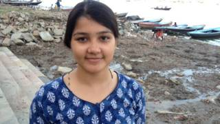 घाटी की सफ़ाई करने वाली लड़की, बनारस