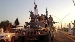 伊斯兰国控制了叙利亚和伊拉克大片地区