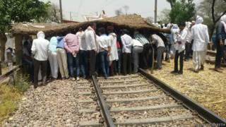 राजस्थान में गूजर आंदोलनकारी