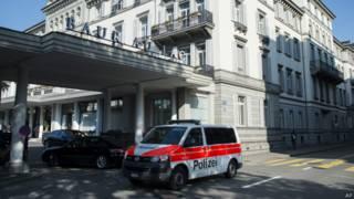 Hotel em Zurique (AP)