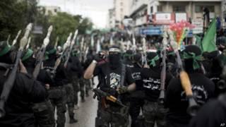 Члены группировки ХАМАС