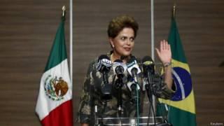 Dilma Rousseff no México | Foto: Reuters