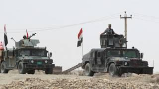 """قوات الحشد الشعبي: استعادة الرمادي """"لا تزال تحتاج وقتا رغم الانهيارات الكبيرة"""" في صفوف تنظيم """"الدولة الإسلامية"""""""