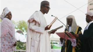 Prezida Buhari yiyemeje kurwanya ruswa