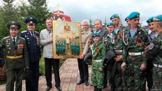 Икона со Сталиным