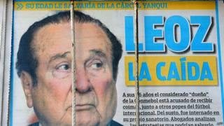 Nicolas Leoz, periódico