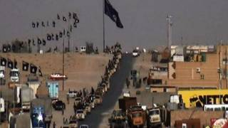 ورود کاروان داعش به رمادی