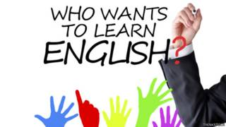 Who wants to learn English?