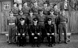 Ричард Воэн в армии