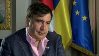 Михаил Саакашвили, губернатор Одесской области