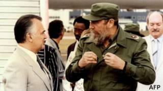 Amerika na Cuba byarebanaga ay'ingwe ku butegetsi bwa Fidel Castro.