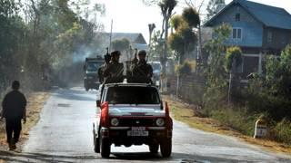 मणिपुर में भारतीय सेना