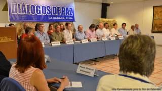 Mesa de diálogo de paz de Colombia en La Habana, Cuba