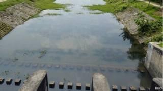 बांग्लादेश में तीस्ता से निकाली गई सूखी नहर