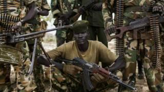 Wanajeshi wa serikali ya Sudan Kusini