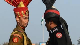 भारत, पाकिस्तान, वाघा बॉर्डर