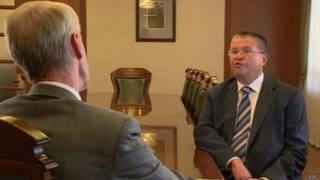 Улюкаев в интервью Би-би-си