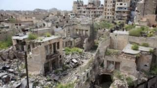 Halep, 2012'den bu yana hükümet güçleri ile isyancılar arasında ikiye bölünmüş durumda.