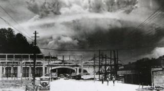 日本原子弹爆炸