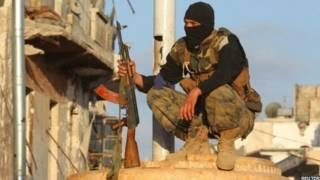 مقاتل من جبهة النصرة