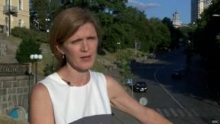 Саманта Пауэр: из России в Донбасс идет поток оружия