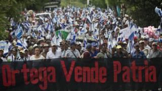 尼加拉瓜遊行