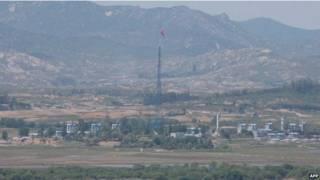 韩朝非军事区边境
