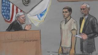 Хайрулложон Матанов в суде в Бостоне