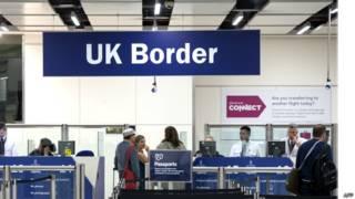 Иммиграционный контроль в аэропорту