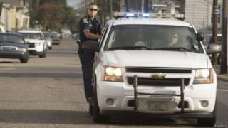 Полиция в Новом Орлеане