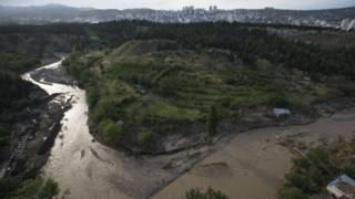 Разлившаяся река Вере