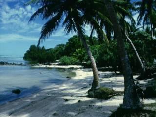 雅普島的海灘