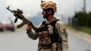 جندي أفغاني