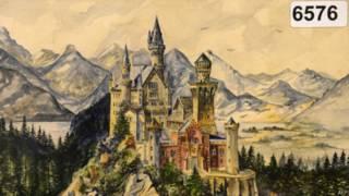 Найдорожчим став малюнок замку Нойшванштайн у Баварії