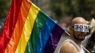 Marcha gay en México (archivo)