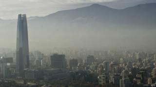 Santiago bajo el efecto del smog