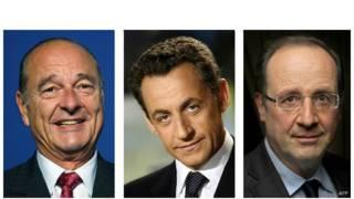 फ्रांस के राष्ट्रपतियों की अमरीका द्वारा की गई कथित जासूसी