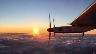 Solar Impulse 2 в полете