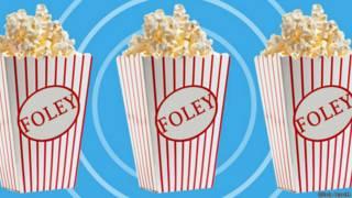 Cajas de palomitas de maíz de cine