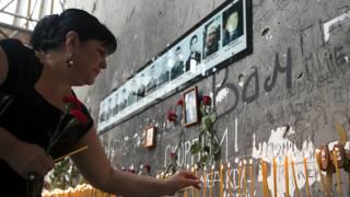 Беслан мемориал