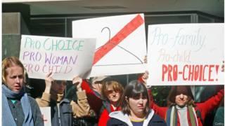 Митинг за право на аборт