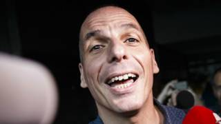Yanis Varoufakis, ministro de Finanzas griego