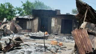 Последствия нападения боевиков