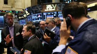 Остановка торгов на NYSE