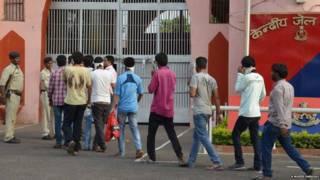 Арестованные студенты