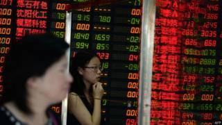 शेयर बाज़ार, चीन