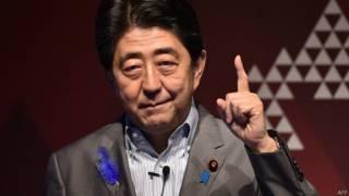 जापान के प्रधानमंत्री शिंज़ो आबे